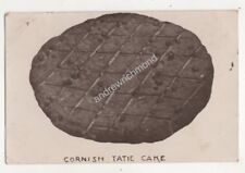 Cornish Tatie Cake Cornwall Postcard Philps Truro 687b