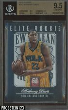 2012-13 Elite Anthony Davis New Orleans Hornets RC Rookie 15/599 BGS 9.5