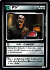 Star Trek CCG All Good Things Shape-Shift Inhibitor 3P