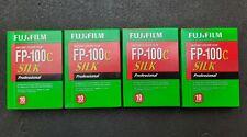 FUJI FP-100C SILK PROF. INSTANT COLOR 4 packs. Exp.2018-05.Stored in fridge.