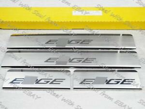 Door sill lining for FORD EDGE 2015—2022 Chrome Scuff Plate Cover