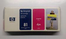 HP original 81 magenta C4932A DesignJet 5000 5500 Serie --------- OVP 08/08/2012