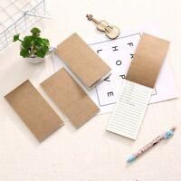 Notebook SmallRefreshing Compact  Horizontal Diary Notebook Blank Paragraph xkj