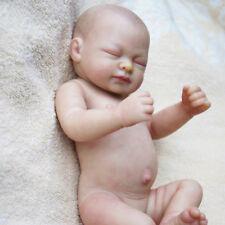 Waterproof Vinyl Silicone Unpainted Blank Reborn Baby Doll Kit Handmade DIY t BB