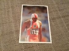 Roger Kingdom USA athletics A Question of Sport game card 1992 Olympics