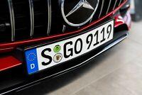 Mercedes OEM Front License Plate Holder Bracket GLA250 W//O Sport Package 2015-17