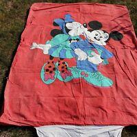 Housse de couette/taie Mickey Minnie DISNEY No CTI vintage/ Duvet cover Disney