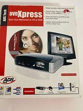 ADS Tech DVD Xpress  USBAV-701 Rev 2 Transfer Videotapes to DVD