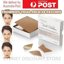 FROWNIES Wrinkle Remover Facial Pad Corners of Eyes &Mouth TRIAL PACK 18 PATCHES