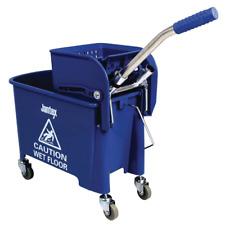 Jantex Kentucky Mop Bucket and Wringer 20Ltr Blue