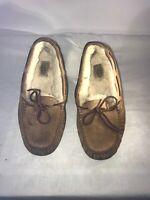 Ugg Australia Moccasin Ladies Chestnut Slippers Uk 5 Ref Ba4