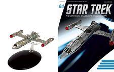 Eaglemoss Star Trek ST0084 STARFLEET NX Alpha Prototype & MAGAZINE