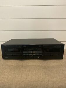 ONKYO TA-W202 Double Cassette Tape Deck Player Recorder Unit Only