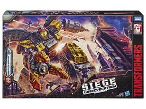 Transformers War for Cybertron Siege Omega Supreme Titan Class Stickers In Hand