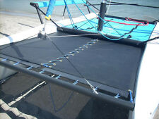 New Black Mesh Forward / Front Tramp Trampoline for Hobie Getaway Catamaran