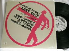 LAST EXIT Noise of Trouble Live in Japan Sonny Sharrock Peter Brotzmann LP
