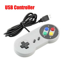 Classic USB Controller Gamepad Joypad Joystick for Nintendo SNES Windows MAC Hot