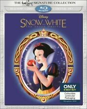 Snow White and the Seven Dwarfs (Blu-ray/DVD, Lenticular Packaging; Only @...