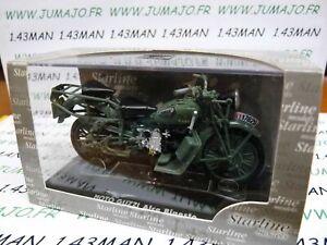 MG15 : MOTO 1/24 STARLINE MOTO GUZZI  :  ALCE BIPOSTO 2 places