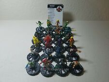 Complete Set 24 Common/Uncommon - Marvel Avengers Infinity HeroClix Mini Lot