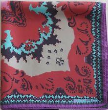 NWOT Authentic ETRO 100% SILK Pocket Square Pochette Handkerchief
