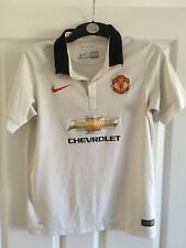 2014 Manchester United away football shirt Nike XL boys 13/15 years Chevrolet