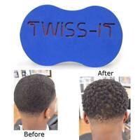 1x Magic Original Barber Hair Brush Sponge For Dread Locs Twist Coil Afro Curl