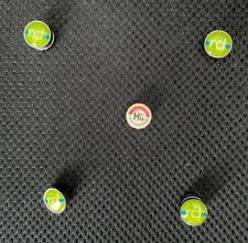 RaceDots Magnetic Running Cycling Race Number Bib Attachment System set of 4