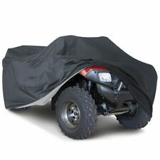 XXXLCar Cover Water-repellen Vehicle Quad Bike Dustproof Beach Cover Black