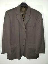 Mens Size 50R Jones New York Solid Green 3 Button Blazer/Sport Coat/Suit Jacket