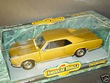 ERTL 1/18, 1966 PONTIAC GTO, Goldish, NEW