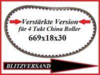 Antriebsriemen Zahnriemen Keilriemen Baotian Rex Off Limit RS 450 GY6 669x18x30