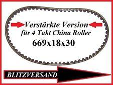 Verstärkter Zahnriemen Keilriemen Baotian Rex Off Limit RS 450 GY6 669x18x30