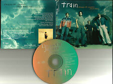 TRAIN Drops of Jupiter PROMO Radio DJ CD single w/ PRINTED LYRICS 2001