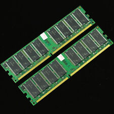 Low-Density 2GB 2x1GB DDR400 PC3200 400MHZ Memory DIMM  NON-ECC 184PIN RAM
