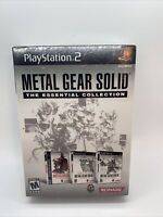 Metal Gear Solid: The Essential Collection PS2 New!