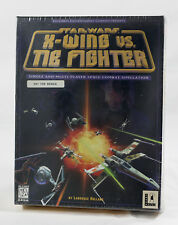 Vintage Big Box PC Sealed - LucasArts X-Wing VS TIE Fighter Not for Resale NEW