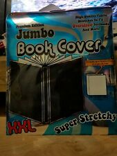 Book cover Sox New Stretch Fabric text jumbo xxl black