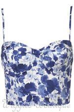 TopShop Cotton Blend Machine Washable Casual Tops & Blouses for Women