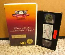 UNSERE SCHONSTEN VOLKSTUMLICHEN LIEDER Ernst Mosch & Walter Scholz VHS Germany