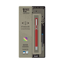 Parker Vector Standard CT Fountain Pen (Red):9000022730