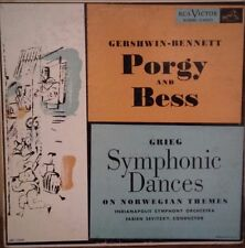 Andy Warhol Art Cover LP Gershwin Porgy And Bess and Grieg Symphonic Dances