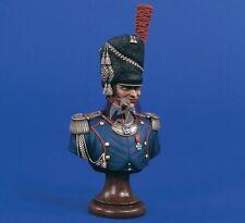 Verlinden 200mm (1/9) Foot Guard Artillery Officer Bust (Napoleonic era) 1528