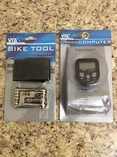 VIA Cycle Bicycle Tool & Computer