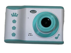 Blue Crown Music Note Children's Touch Screen Digital Camera 8MP 720P Video