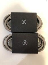 Set of 2x Beats by Dr. Dre Solo2 3.5mm Aux Audio Cable - Gray