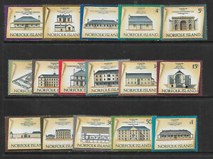 E57] NORFOLK ISLAND SG133-148 1973-75 Definitive set 16v unmounted mint
