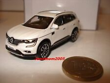 Norev Renault Koleos II White 2016 Scale 3 Inches
