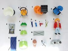 PLAYMOBIL 4413 SALON WIG DRYER REGISTER SHELF COMB CART CHAIR SINK CAPE-CHOOSE 1