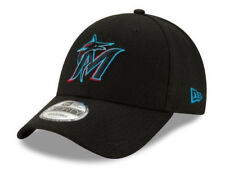 Miami Marlins 2019 New Era 9FORTY MLB The League Adjustable Strap Hat Cap - 940